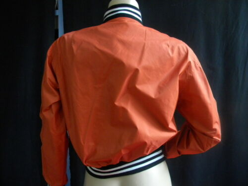 Raye Jack Blouson Neuf Poignet Vintage Liberto Orange Rare Teddy Silver 38 M Col zq4EBwx0w