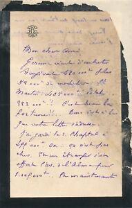 art Léon Cléry Gérome Bougival lettre autographe signée Malherbe - France - État : Occasion: Objet ayant été utilisé. Consulter la description du vendeur pour avoir plus de détails sur les éventuelles imperfections. ... - France