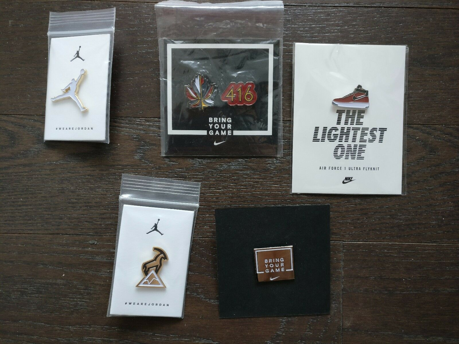 2018 Toronto NBA All - Star Game Nike Air pines) Jordan PIN SET (6 pines) Air Limited Edition 4b028c