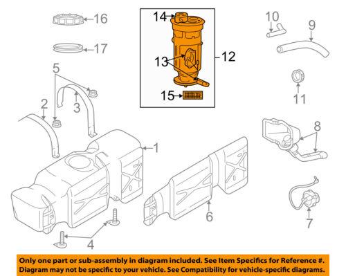 Dodge CHRYSLER OEM 04-05 Ram 1500-Fuel Pump RL134555AA