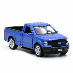 1-36-Ford-F150-Pickup-Truck-Model-Car-Alloy-Diecast-Toy-Vehicle-Kids-Gift-Blue