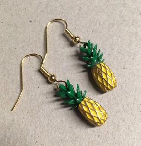 Image Is Loading Vintage Style Pinele Metal Charm Earrings Fancy Dress