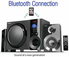 Boytone BT210FB Wireless Bluetooth 2.1 Speaker Bluetooth SD AUX USB FM Radio NEW