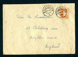 1952-Norway-Cover-Tylldalen-to-England