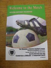24/04/2012 Rhondda League U12 Cup Final: Cambrian And Clydach BGC v Tonyrefail B