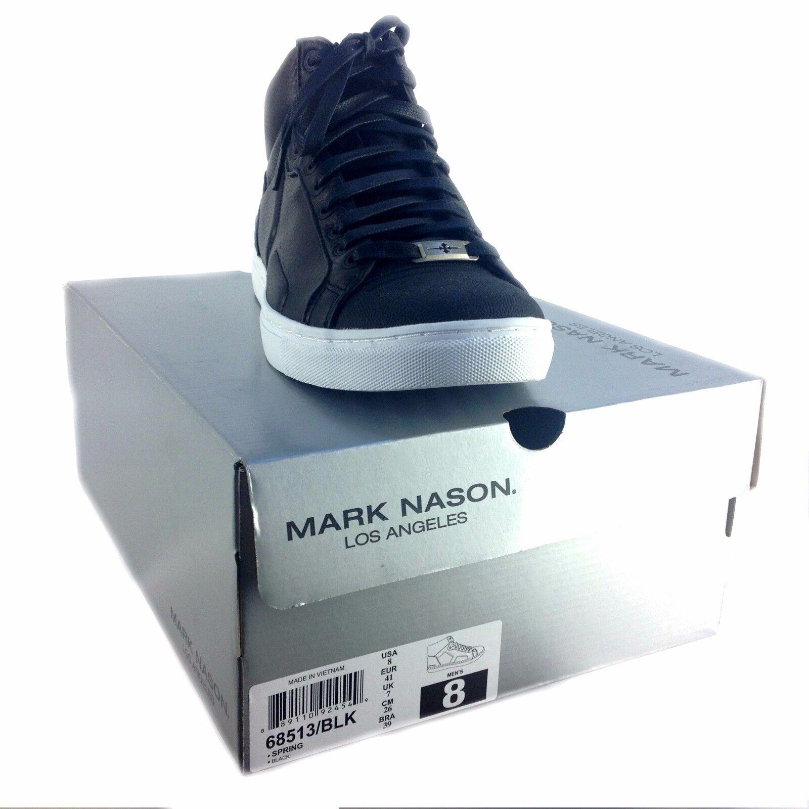 Mark Nason Por Skechers, para hombre primavera High Top, Top, Top, estilo /negro, Negro 02bf6d