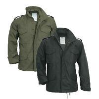 Surplus Us Field Jacket M65 Military Style Army Bw Parka Winter