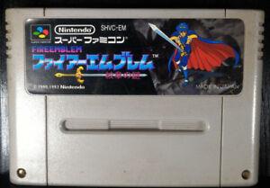 Fire-Emblem-Monshou-no-Nazo-1993-SHVC-EM-Super-Famicom-SFC-Japanese-Version