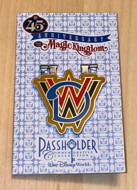 Disney World Magic Kingdom 45th Anniversary Passholder Pin 2016 Le for sale  online | eBay