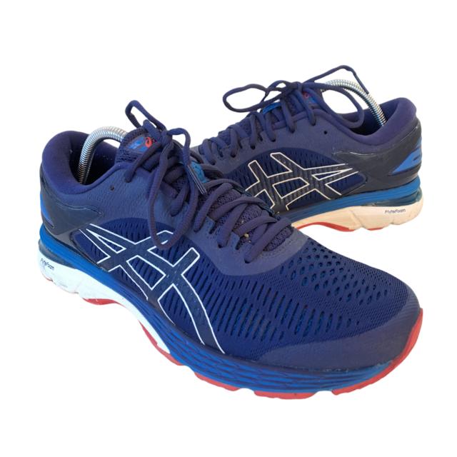 Asics Gel Kayano 25 Mens Size 10 Blue Athletic Walking Running Shoes Sneakers