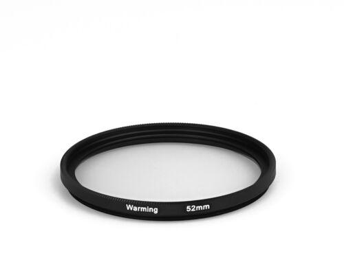 52mm 812 Warming Filter 52 mm dHD Digital Wärme Filter