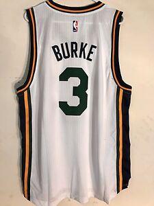 Adidas Swingman 2015-16 NBA Jersey Utah Jazz Trey Burke White sz XL ... 95655eba8