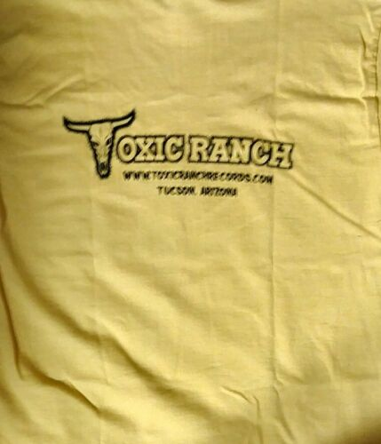 Toxic Ranch Record store Day logo T-Shirt souvenir