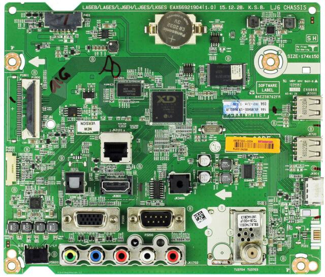 LG EBT64341001 Main Board for 49LW540S-UA.BUSGLJR
