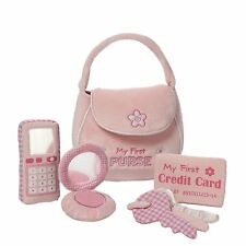 GUND My First Purse, Stuffed Purse with Accessories, Cell Phone, Compact, Keys