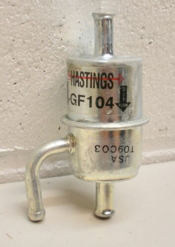 GF-104 Hastings Gas Fuel Filter In-Line METAL NOS fits CHRYSLER DODGE PLYMOUTH