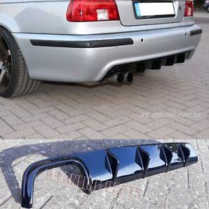 BMW-5er-E39-Limousine-Touring-Heckdiffusor-Diffuser-M-Technik-Mtech-M-Glanz-ABS