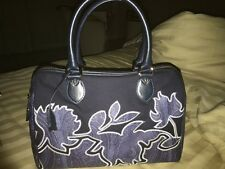 ETRO AUTHENTIC EMBROIDED DOCTORS BAG.  DOUBLE HANDLE.  SIMPLY STUNNING