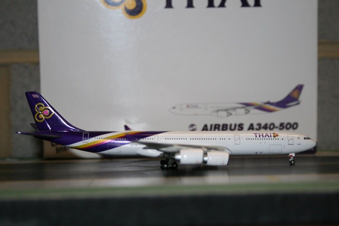 centro comercial de moda Gemini Jets 1 1 1 400 Thai Airways Airbus A340-500 Hs-TLB (gjtha 590) modelo de avión  tiempo libre