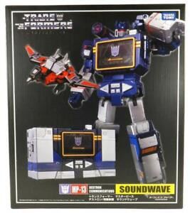 NEW TRANSFORMERS MASTERPIECE COMMUNICATIONS MP-13 SOUNDWAVE LASER BIRD BOXED
