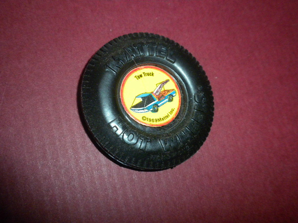 Remolque camión Plastic Pin Pin Pin Insignia de 1969 Hot Wheels de Mattel   botón de Pinback 4b5190