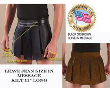 Gladiator Kilt costume II Warrior Greek Roman  Spartan Made to Jean size