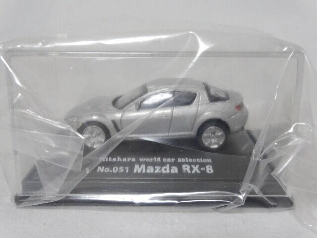 Mazda RX-8 No.051 Figure 1/72 Kitahara World Car Selection Model Car Matsuda