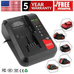 PCC692L-Charger-For-Black-Decker-amp-Porter-Cable-20V-MAX-Lithium-Battery-10-8-20V