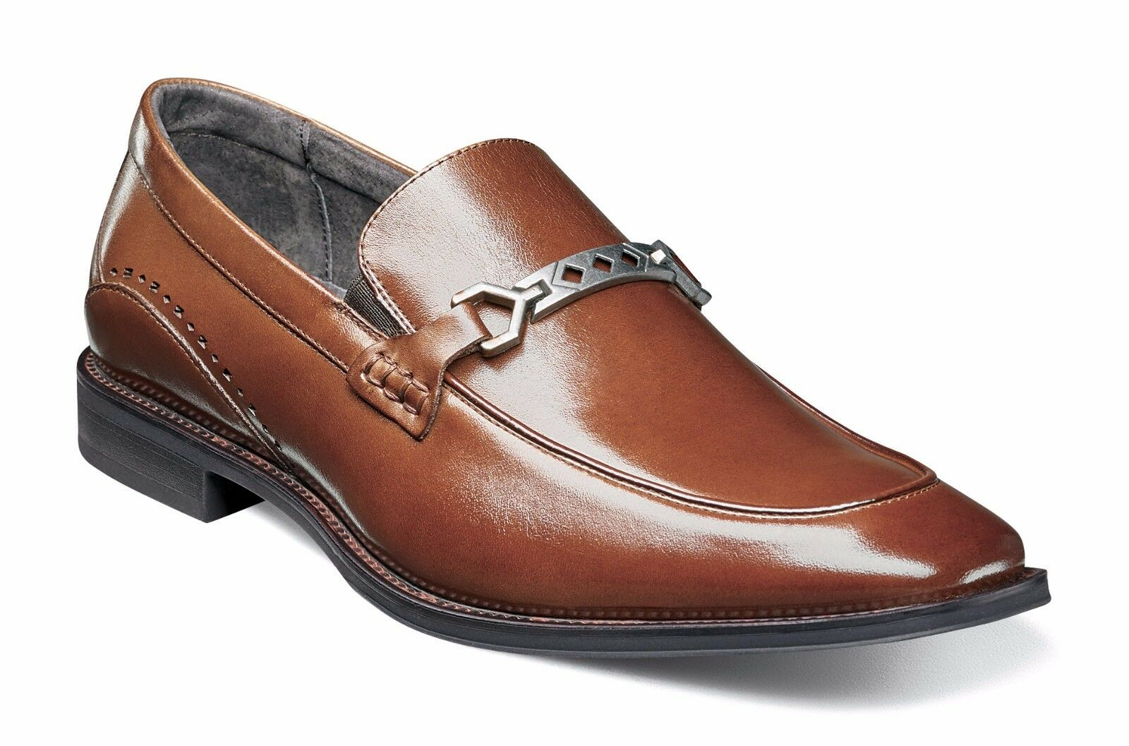 acquista la qualità autentica al 100% Stacy Adams Uomo Cognac Lindford Moc Toe Toe Toe Bit  preferenziale