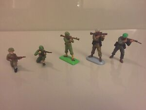 Vintage-Britains-Deetail-amp-Super-Deetail-Soldier-Bundle-Job-Lot-SAS-US-amp-Marine