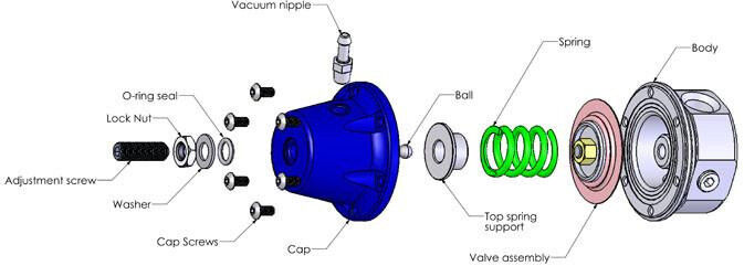 turbo smart fpr800 fuel pressure regulator turbo replacement (031 Kyocera Mita Diagram