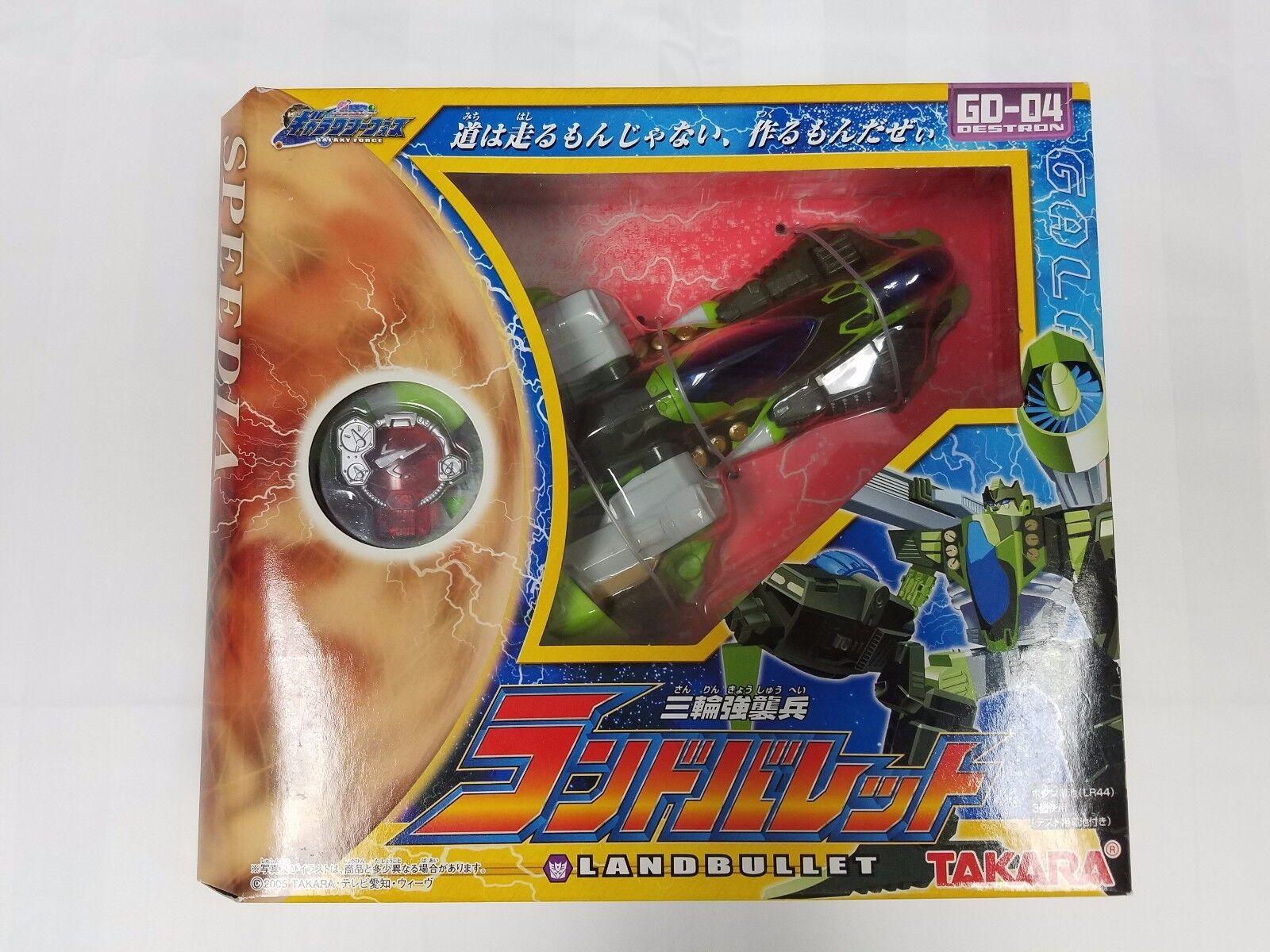 Die galaxie kraft land kugel destron gd-04 takara - misb