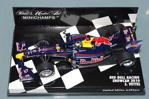 Minichamps F1 au 1/43 Red Bull Racing Showcar 2010 Sebastian Vettel - L.e.   3384pcs 4012138104310