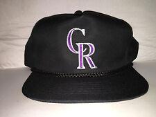 Vtg Colorado Rockies Snapback hat cap 90s YOUNGAN MLB Baseball NWOT todd helton