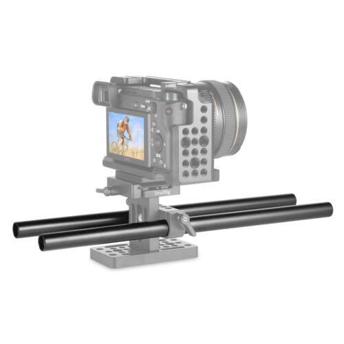 """Aleación de Aluminio smallrig 2pc 12/"""" 30 cm 15 mm FR Varilla Riel Sistema de enfoque de seguimiento 1053"""