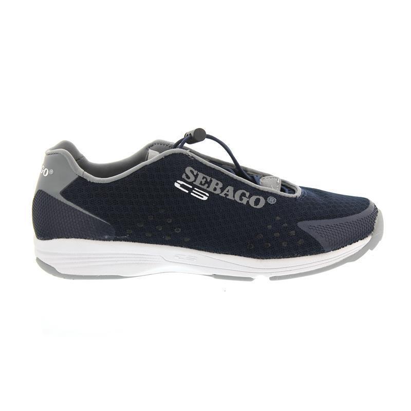 Sebago Cyphon Sea Sport, Navy   Grey Textile B821005 Men
