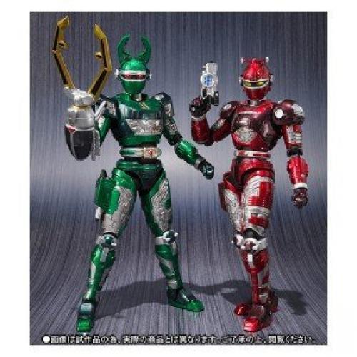Nouveau S.H.Figurines Jyukou B-Fighter G Cerf & rotdle Set Figurine Articulée