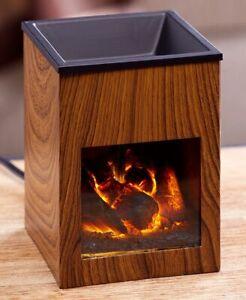 Fireplace-Tart-Wax-Warmer-1-Pc-Hot-Candle-Melt-Holder-Fragrance-Essential-Oil