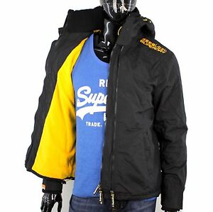 superdry herren m l xl xxl arctic windcheater jacke fleece. Black Bedroom Furniture Sets. Home Design Ideas