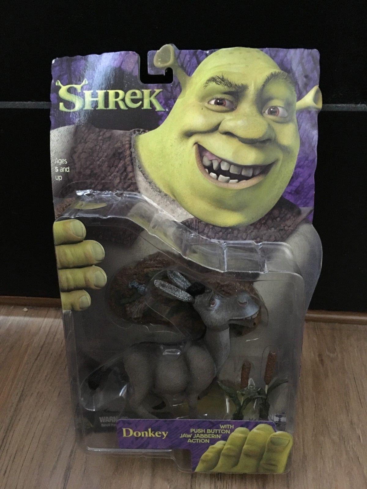 Shrek Movie - Donkey figure, McFarlane Toys, Dreamworks, New In Box