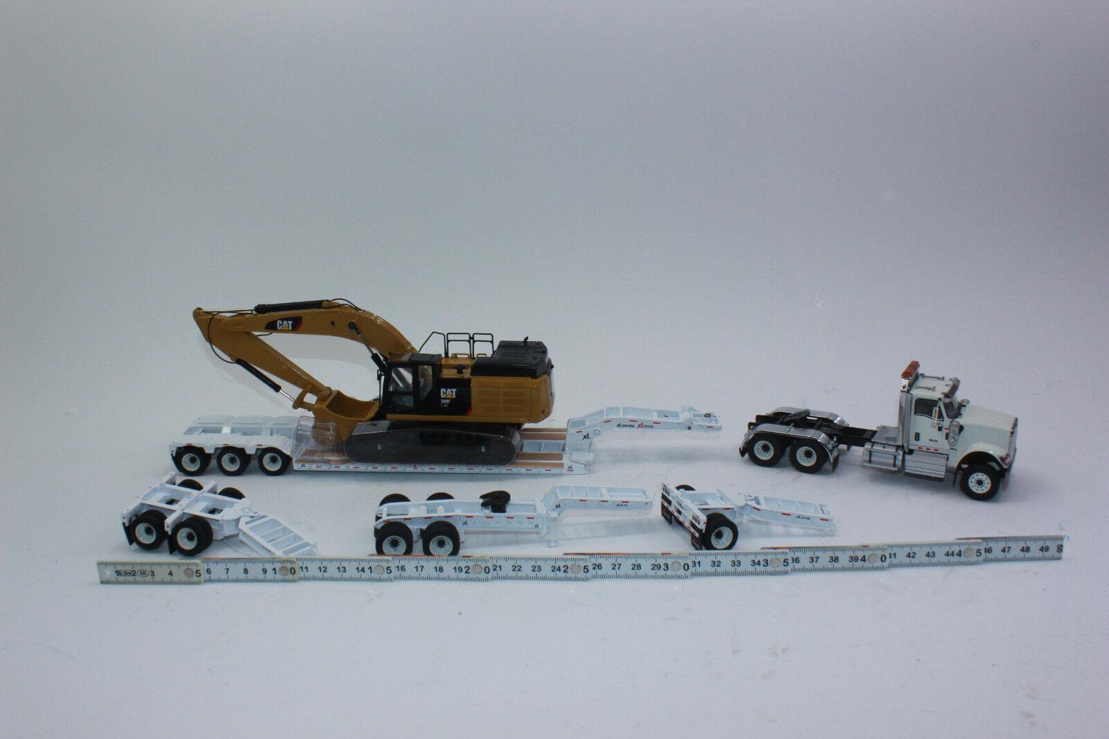 Miniature Masters 85600 hx520 tracteur  remorque  CAT 349 F 1 50 NOUVEAU dans neuf dans sa boîte