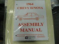 1964 Chevy Ii, Nova (all Models) Assembly Manual