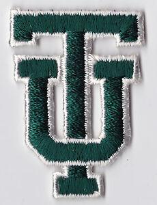 TULANE-UNIVERSITY-GREEN-WAVE-NCAA-COLLEGE-2-25-034-TU-INTERLOCKED-LETTERS-PATCH