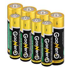 Hot 4pcs AAA + 4pcs AA Pilas Alcalinas 1.5V Mayoreo Uso Individual Baterías Set