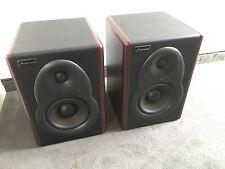 2 x Studiomaster m5b Attiva Studio Monitor (1 paia = 2 pezzi nel set) TOP CONDIZIONE