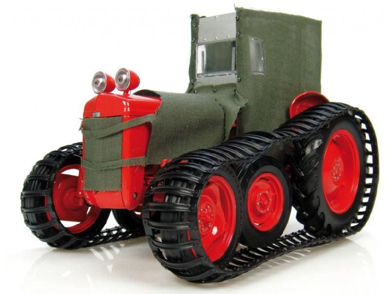 Ferguson tea-20   sue  polar rouge & toile trattore 1 16 MODEL 2921  pas cher