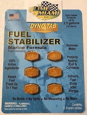 Boats Dyno-tab® Marine Stabilizer 6-tab Dynotab Card for Marine Vessels Yachts