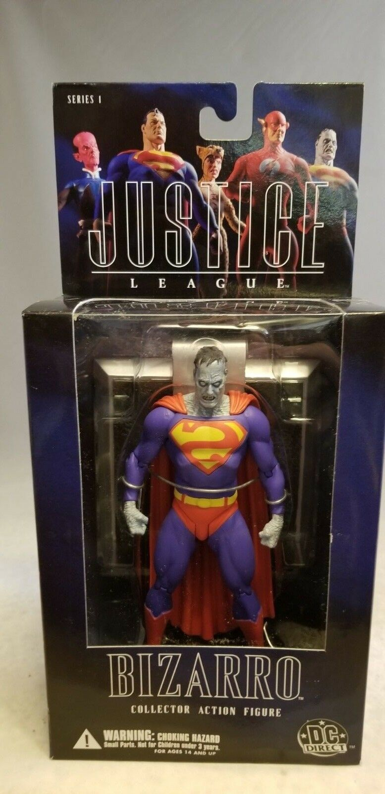 Alex Ross Justice League 6  Bizarro Figure