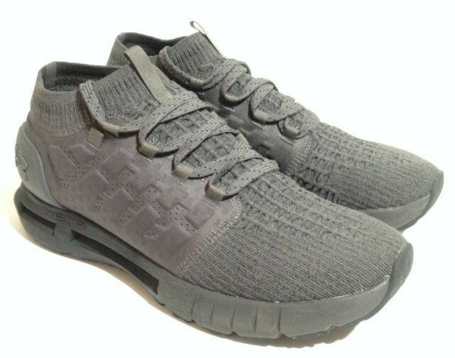 Under Armour Men's HOVR Phantom Running Shoes Charcoal/Black - Size 12 US