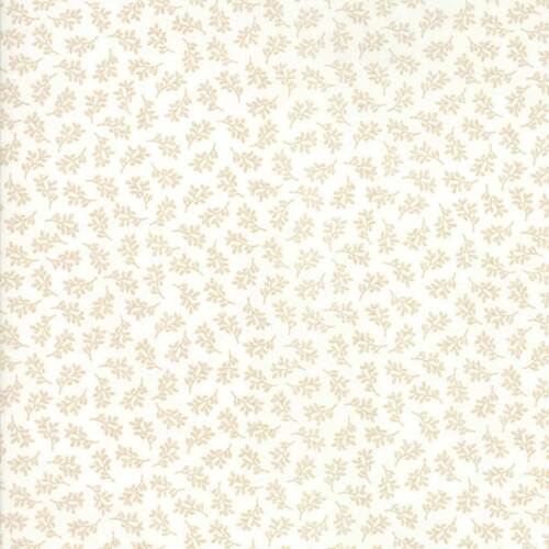 Per 1//4 Metre Moda Fabric 101 Maple Street Tiny Vines Marsh Cream